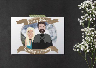 invitaciones-de-boda-personalizadas-juego-de-tronos
