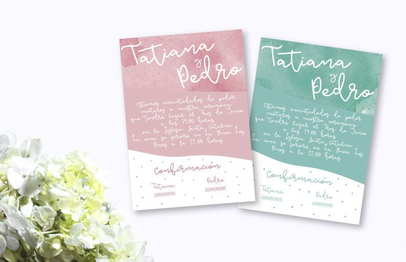 Invitaciones de boda Dream